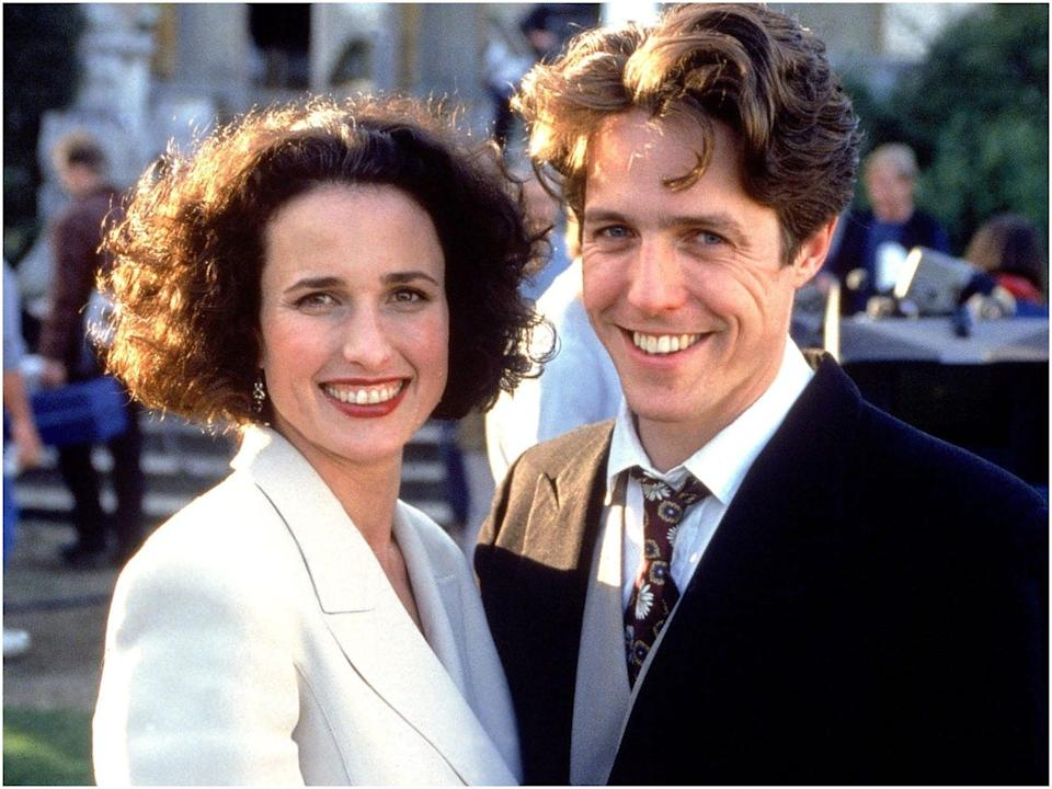 Hugh Grant Four Weddings and a Funeral