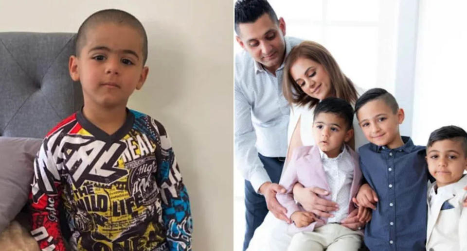 """Anthony """"AJ"""" Elfalak was reunited with his family three days after he disappeared from their remote rural property at Putty on Friday. Source: Facebook."""