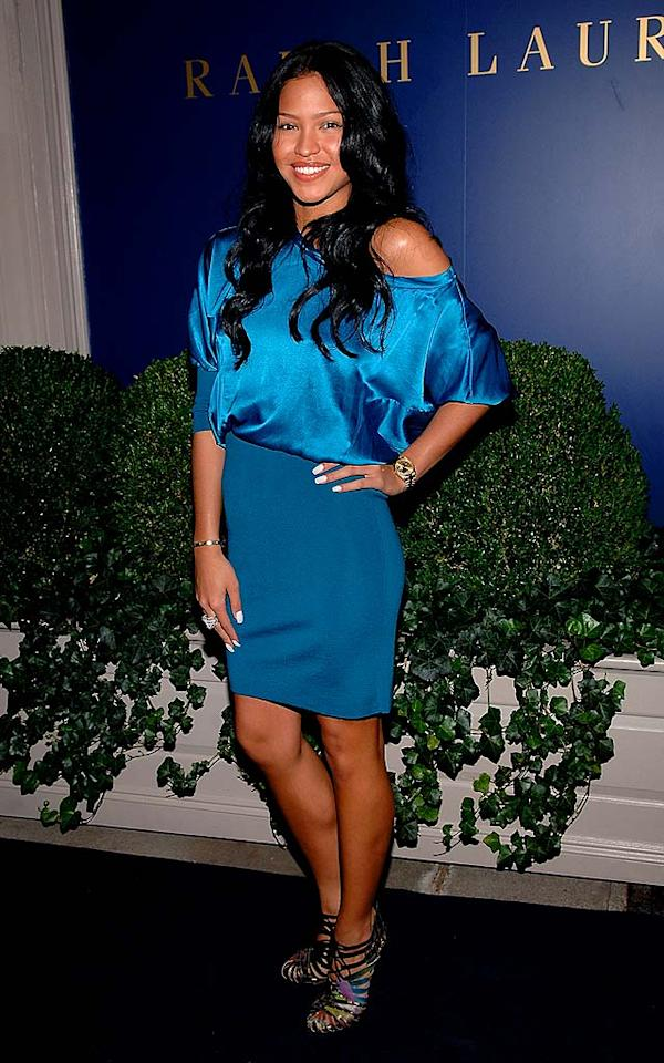 """Aside from her association with Diddy, we're not sure how one-hit wonder Cassie keeps getting invited to these big events. Jamie McCarthy/<a href=""""http://www.wireimage.com"""" target=""""new"""">WireImage.com</a> - September 10, 2008"""