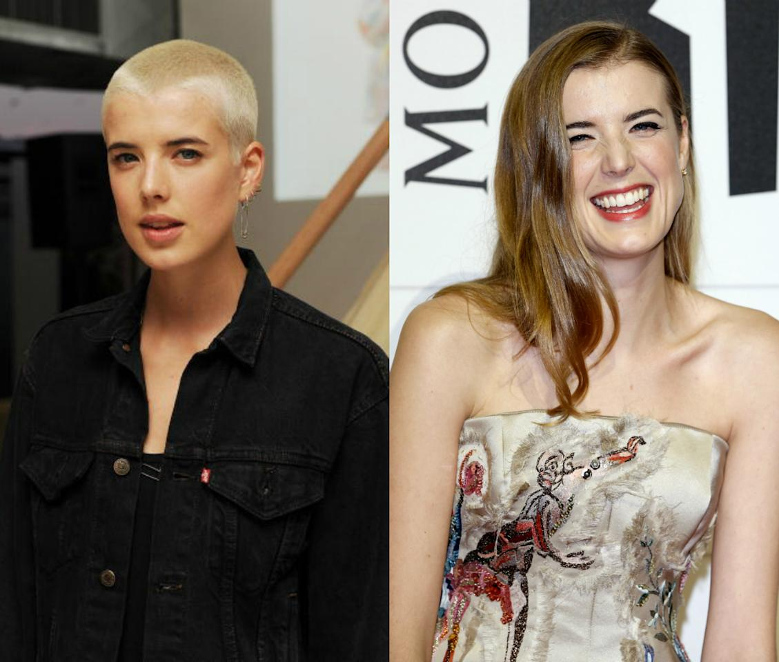 <p>Agyness Deyn's short hair made her the model of the moment, she then decided to go even shorter in 2010 opting for bleach blonde buzz cut. <i>[Photo: Getty]</i></p>