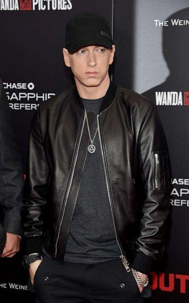 PHOTO: Eminem attends the New York premiere of 'Southpaw,' July 20, 2015, in New York. (Jamie Mccarthy/FilmMagic/Getty Images)
