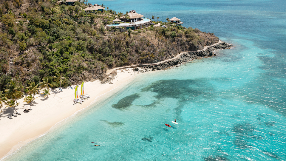 The new Point Estate overlooks Manchioneel Beach, rumored to be Branson's favorite spot on the island. - Credit: Courtesy Virgin Limited Edition