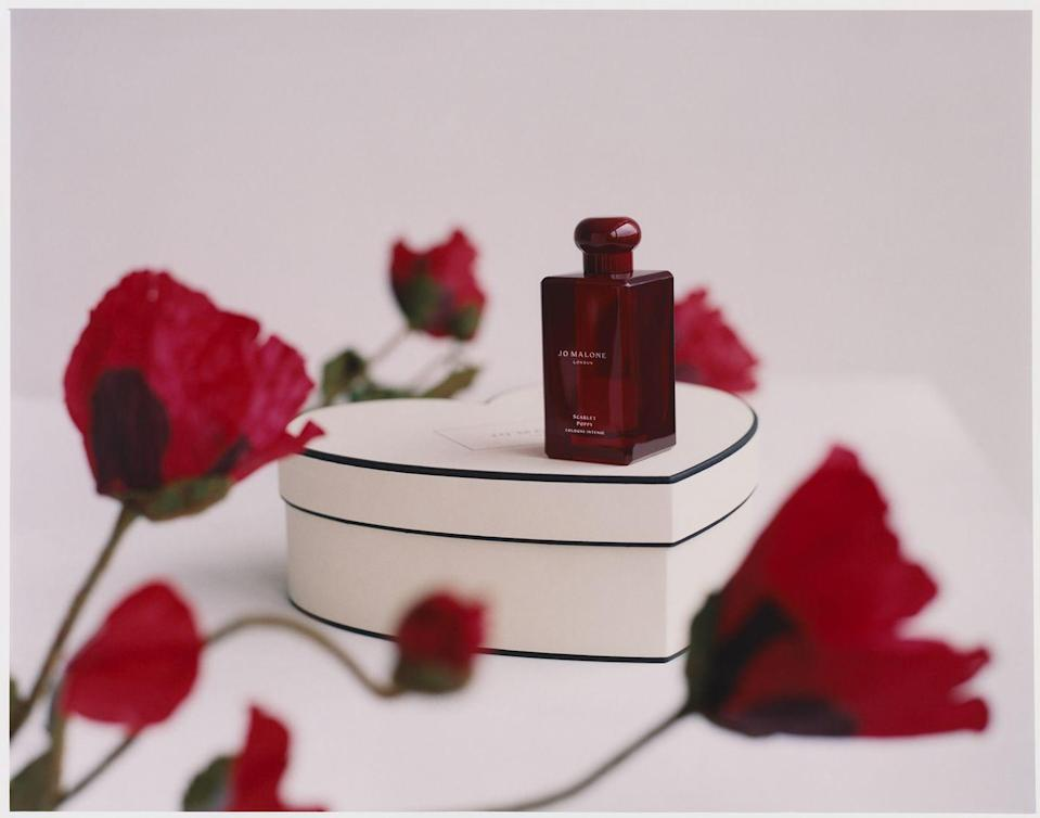 "<p>Jo Malone London's latest Cologne Intense, the velvety Scarlet Poppy, will inspire decadence. Its exotic floral notes are enhanced by hints of tonka bean and iris, while a sweet fig accord will draw you in.</p><p>£134 for 100ml, Jo Malone London</p><p><a class=""link rapid-noclick-resp"" href=""https://go.redirectingat.com?id=127X1599956&url=https%3A%2F%2Fwww.jomalone.co.uk%2Fcologne-intense-with-scarlet-poppy&sref=https%3A%2F%2Fwww.townandcountrymag.com%2Fuk%2Flifestyle%2Fg35147769%2F14-gift-ideas-for-valentines-day%2F"" rel=""nofollow noopener"" target=""_blank"" data-ylk=""slk:SHOP NOW"">SHOP NOW</a></p>"
