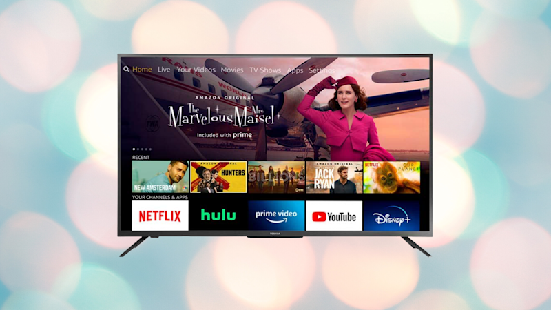 Get this Smart HD TV—Fire TV Edition for just $150. (Photo: Toshiba)