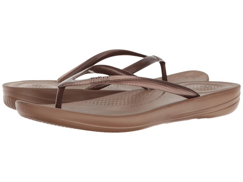 FitFlop Iqushion Ergonomic Flip-Flops. (Photo: Zappos)