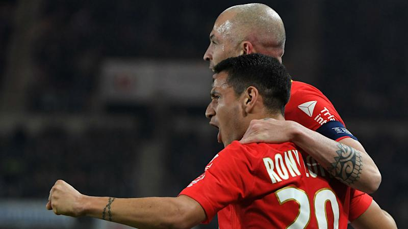 Strasbourg 1 Monaco 3: Jovetic, Lopes and Fabinho on target as visitors march on