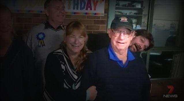Friends and family members have paid tribute to Alan Carter. Photo: 7 News/Supplied