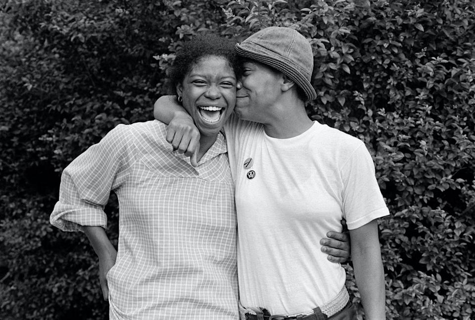 Photo credit: © JEB from Eye to Eye Portraits of Lesbians published by Anthology Editions