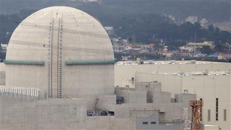 File photo of the Shin Kori No. 3 reactor of state-run utility Korea Electric Power Corp in Ulsan