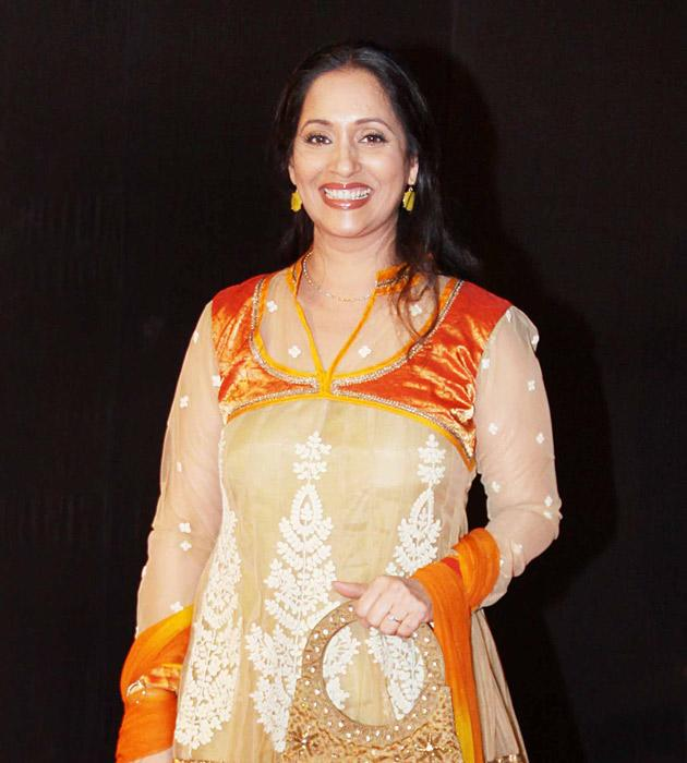 Ashwini Bhave arrives for the premiere