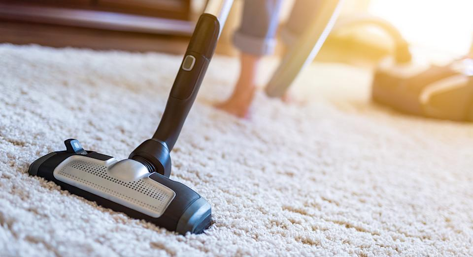 Amazon has a huge spring sale on with big discounts on Shark vacuum cleaners.  (Getty Images)