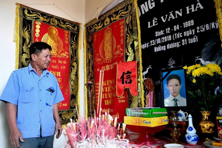 Le Minh Tuan, whose 30-year-old son died in the truck, said he thought the court's decision was the right one