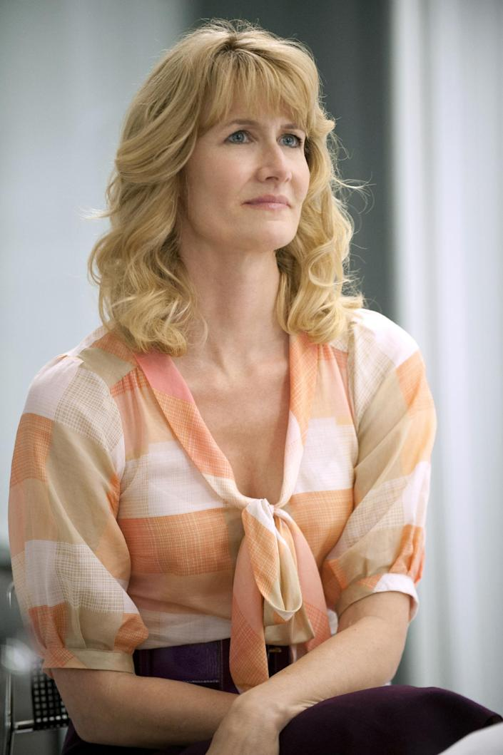 """This publicity image released by HBO shows Laura Dern in """"Enlightened."""" Dern was nominated for an Emmy Award for best actress in a comedy series on, Thursday July 18, 2013. The Academy of Television Arts & Sciences' Emmy ceremony will be hosted by Neil Patrick Harris. It will air Sept. 22 on CBS. (AP Photo/HBO, Lacey Terrell)"""
