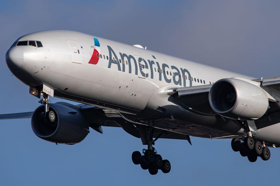 American Airlines (Photo by Nicolas Economou/NurPhoto)