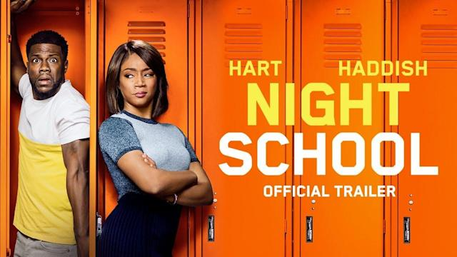 Tiffany Haddish kicks Kevin Hart's tailfeather in 'Night School' trailer
