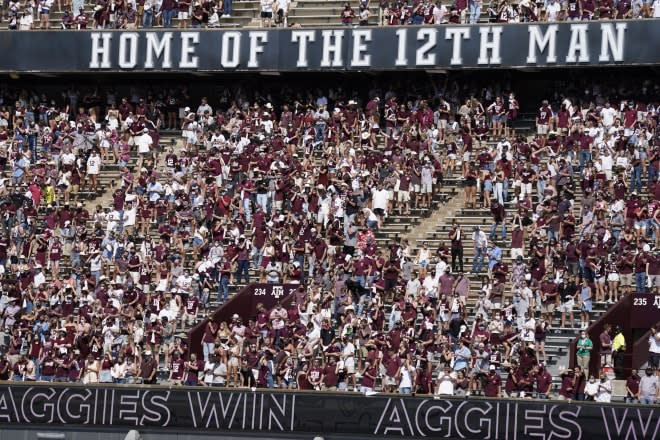 Hogs expect large crowd at Texas A