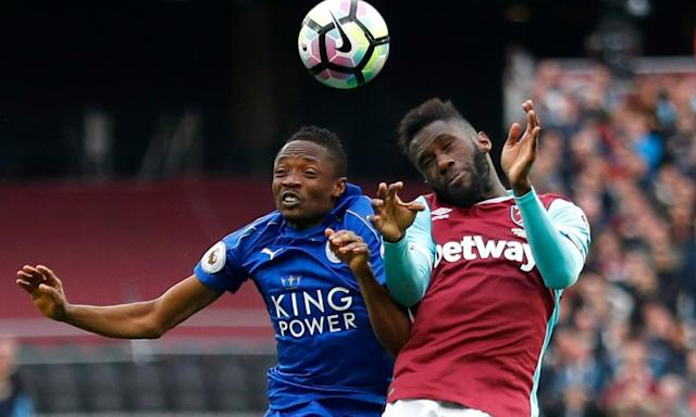 "<span class=""element-image__caption"">Ahmed Musa has not started a Premier League match for Leicester since the 3-0 defeat to Manchester United on 5 February.</span> <span class=""element-image__credit"">Photograph: Peter Nicholls/Reuters</span>"
