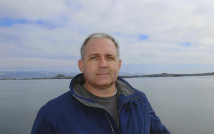 "<em>The brother of Paul Whelan (pictured), who is being held in Russia on an apparently espionage charge, has urged the British Government to ""keep an eye on him"" (Picture: AP)</em>"