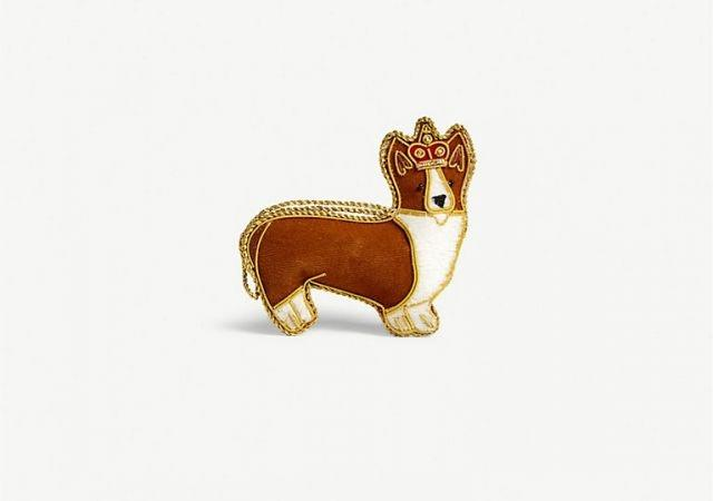 A corgi by Selfridges