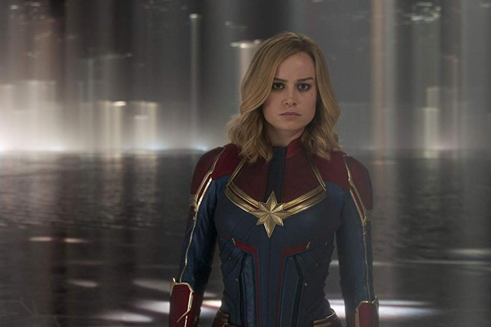 Brie Larson as Captain Marvel (Credit: Marvel)