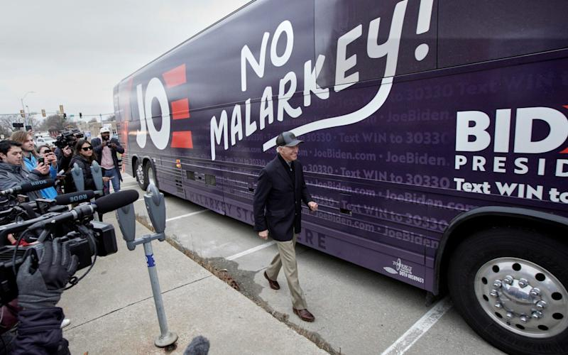 Joe Biden mocked for 'no malarkey' campaign pledge - AP