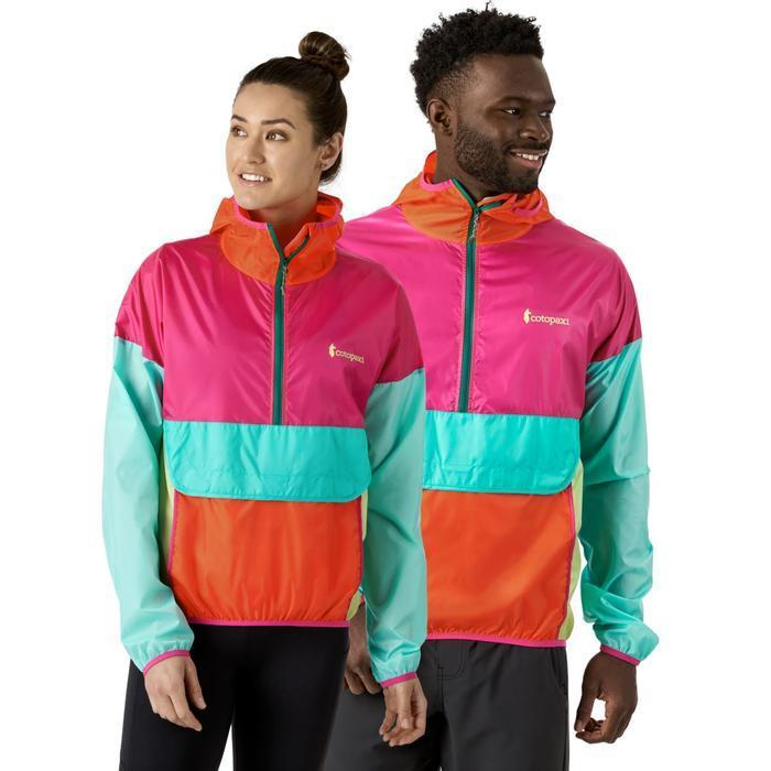 """<h2>Cotopaxi</h2><br>We challenge you to find a cuter — and more socially responsible — windbreaker moment. Cotopaxi founder Davis Smith grew up in Latin American and named his certified B-Corp after an active volcano in the Andes. 1% percent of profits from the outerwear brand go to their eponymous foundation, which supports companies like the <a href=""""https://www.rescue.org/"""" rel=""""nofollow noopener"""" target=""""_blank"""" data-ylk=""""slk:International Rescue Committee"""" class=""""link rapid-noclick-resp"""">International Rescue Committee</a> and <a href=""""https://educationinnovations.org/program/escuela-nueva"""" rel=""""nofollow noopener"""" target=""""_blank"""" data-ylk=""""slk:Escuela Nueva"""" class=""""link rapid-noclick-resp"""">Escuela Nueva</a>, an organization that operates 86 schools in rural Latin America.<br><br><em>Shop <strong><a href=""""https://www.cotopaxi.com/"""" rel=""""nofollow noopener"""" target=""""_blank"""" data-ylk=""""slk:Cotopaxi"""" class=""""link rapid-noclick-resp"""">Cotopaxi</a></strong></em><br><br><strong>Cotopaxi</strong> Teca Half-Zip Unisex Windbreaker, $, available at <a href=""""https://go.skimresources.com/?id=30283X879131&url=https%3A%2F%2Fwww.cotopaxi.com%2Fproducts%2Fteca-windbreaker-halfzip-unisex%3Fvariant%3D32982606446653"""" rel=""""nofollow noopener"""" target=""""_blank"""" data-ylk=""""slk:Cotopaxi"""" class=""""link rapid-noclick-resp"""">Cotopaxi</a>"""