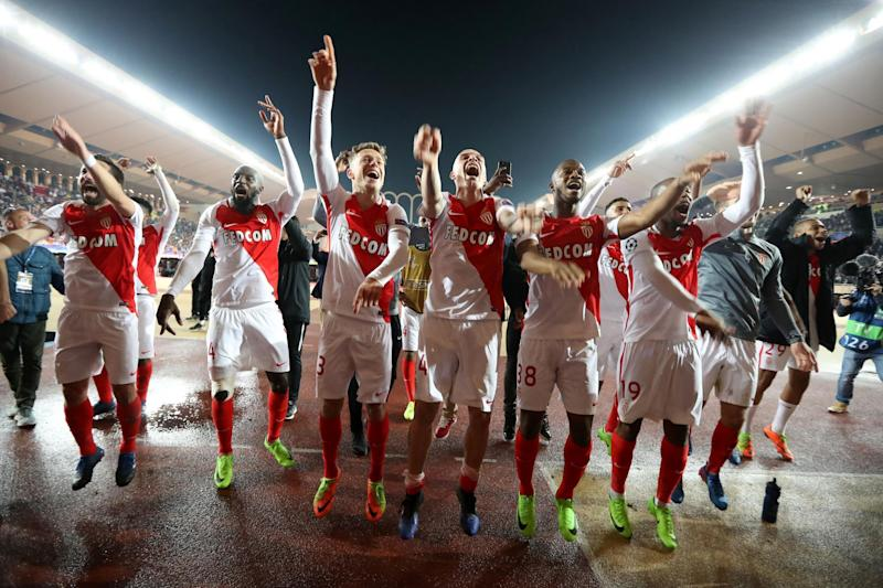 Manchester City were stunned by Monaco three years ago. (AFP via Getty Images)