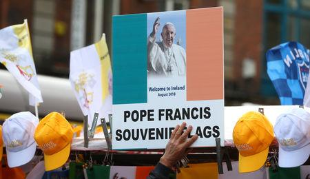 Pope says will not respond to allegations of abuse cover-up