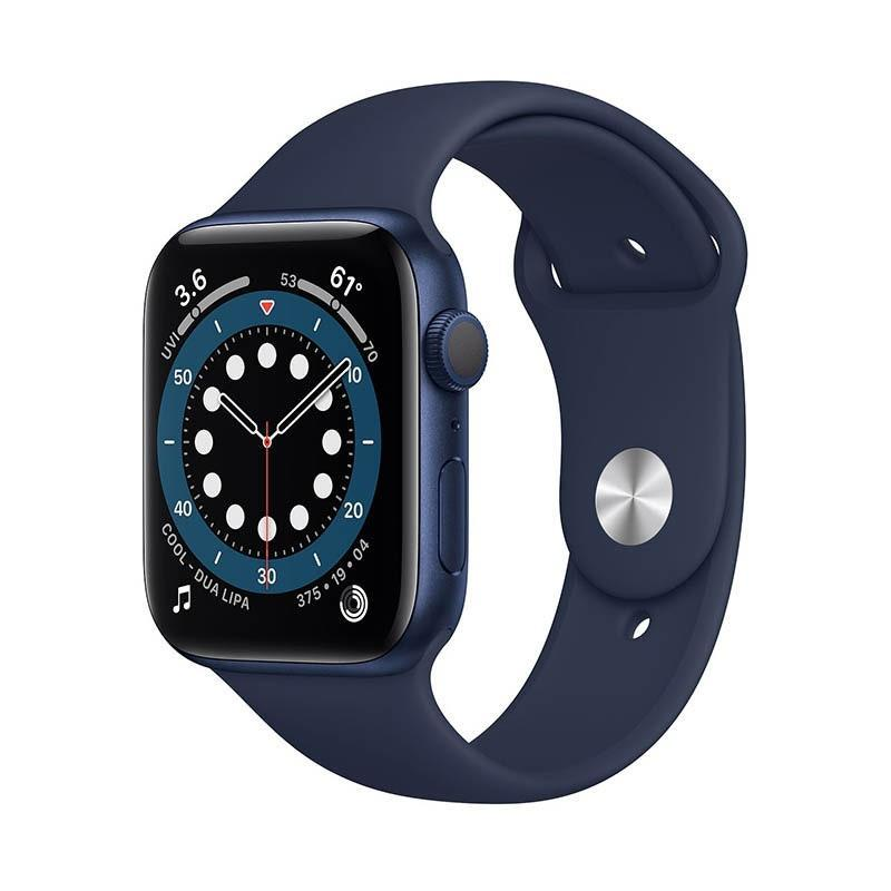 "Whether he's a Steve Jobs or Steve Wozniak stan, the Apple Watch Series 6 is the best smartwatch from the company yet, with sleep tracking, updated fitness tracking, blood oxygen monitoring, and more. $399, Apple. <a href=""https://www.apple.com/shop/buy-watch/apple-watch/40mm-gps-blue-aluminum-deep-navy-sport-band-sm-ml"" rel=""nofollow noopener"" target=""_blank"" data-ylk=""slk:Get it now!"" class=""link rapid-noclick-resp"">Get it now!</a>"