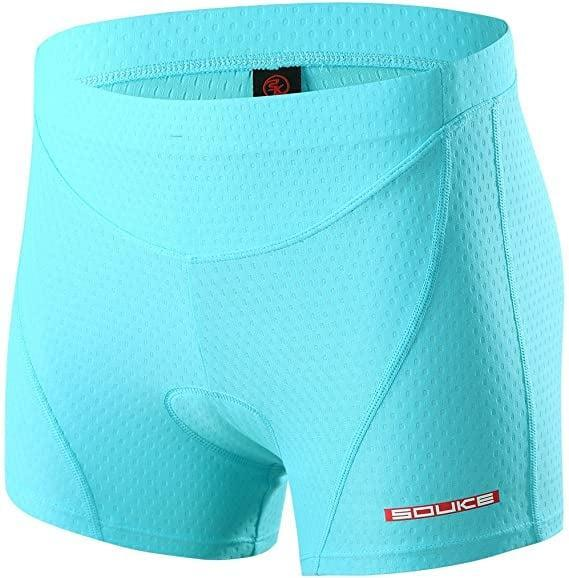 <p>For padding and protection without the restriction of a silicone hem, try these <span>Eco-daily Cycling Shorts</span> ($15 - $22). The lightweight yet stretchy mesh and spandex material will allow you to pedal freely and comfortably.</p>
