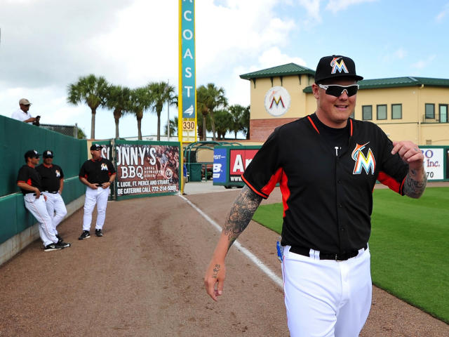 Mat Latos is among the additions to the Marlins for 2015. (USA TODAY Sports)