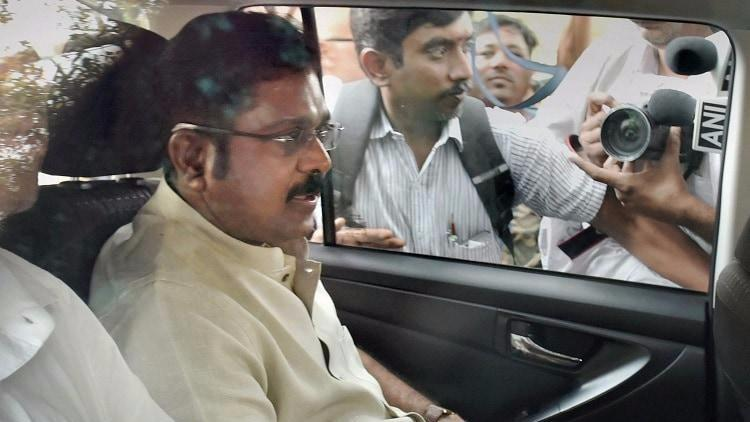 EC Brivery Case: ED Files Money Laundering Case Against Dhinakaran