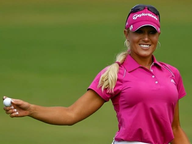 Speaking, would lpga natalie gulbis body paint