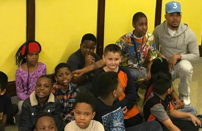 Watch Chance the Rapper's Surprise Visit to a Chicago Elementary School's Career Day