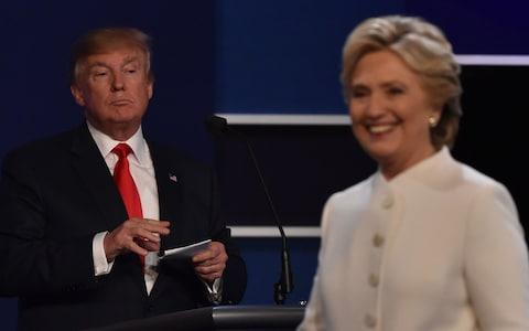 Hilary Clinton, right, won the Democratic nomination for president but lost to Donald Trump - Credit: PAUL J. RICHARDS/AFP/Getty Images