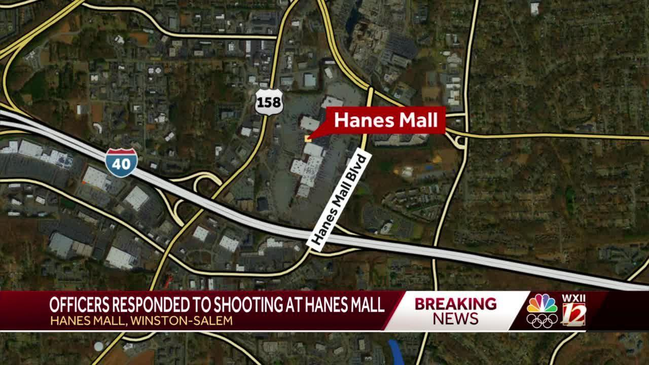 Police investigate shooting in the area of Hanes Mall in Winston-Salem