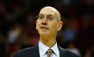 Adam Silver's willing to consider tweaking the lottery, but no changes are imminent. (Scott Halleran/Getty)
