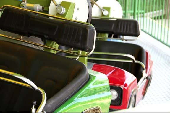 Amusement park rides, including bumper cars, send more than 4,000 kids to emergency rooms each year.
