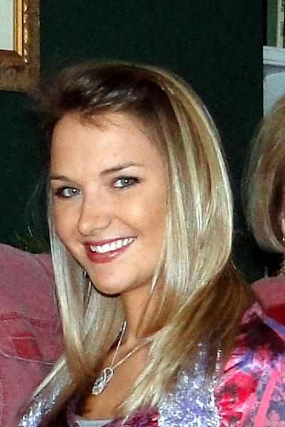 This undated photo provided by the family shows Aimee Copeland. the 24-year-old Georgia graduate student is fighting to survive a flesh-eating bacterial infection that forced doctors to amputate most of her left leg. They warned she would likely lose her other foot and both hands. (AP Photo/Copeland Family)