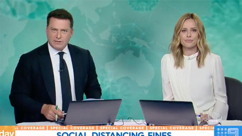Karl Stefanovic and Ally Langford report on Australia's coronavirus pandemic laws