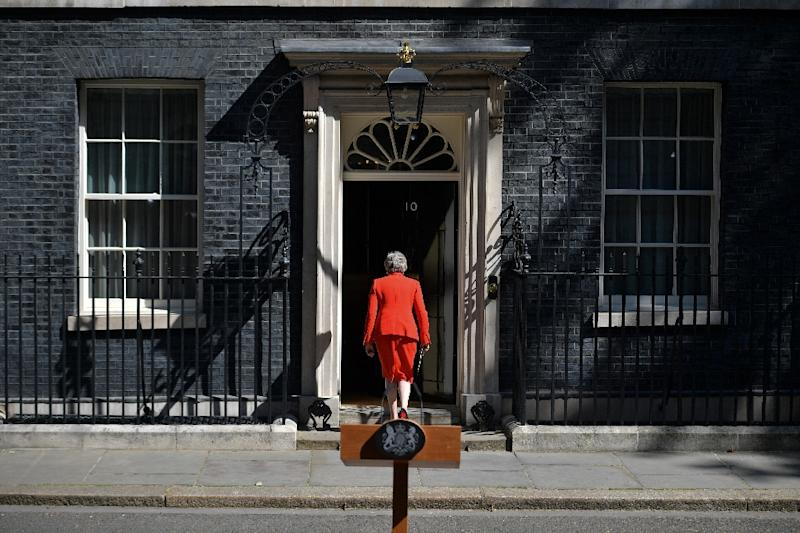 May will leave office without any significant achievements -- other than her bungled handling of Brexit, say analysts (AFP Photo/Daniel LEAL-OLIVAS)