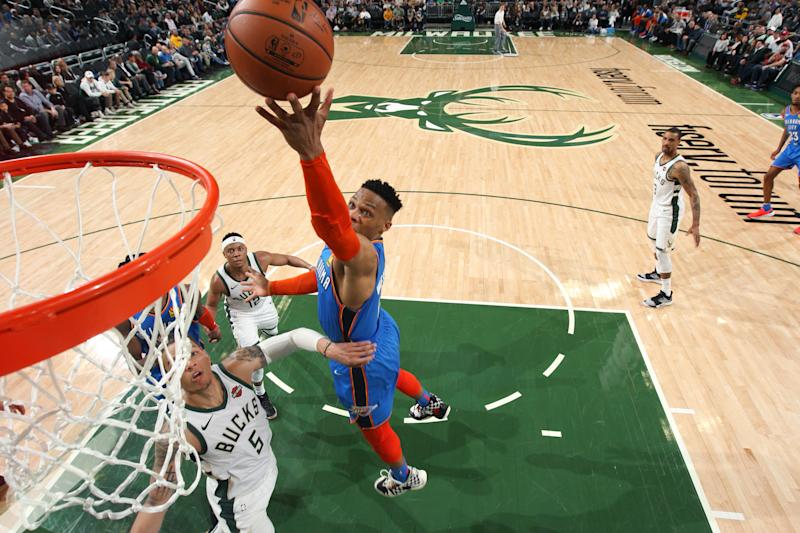 Thunder get 6th spot in West with win over Bucks