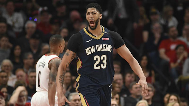 NBA playoffs 2018: Anthony Davis, Pelicans relieved, not satisfied after Game 1 win