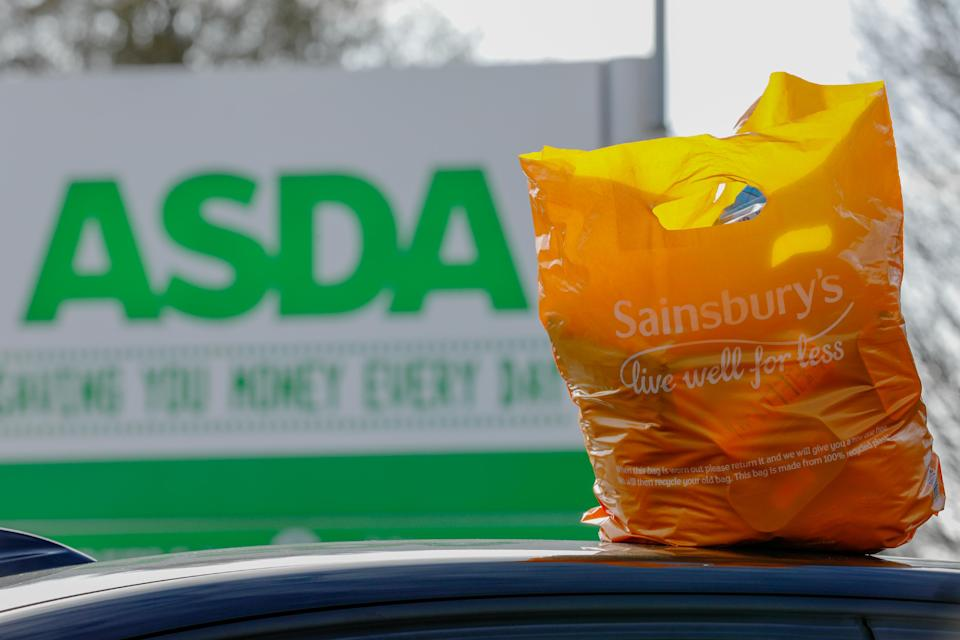 The Competition and Markets Authority said Asda-Sainsbury's merger would lead to price rises and reduction of choice for consumers. Photo: Luke MacGregor/Bloomberg/Getty