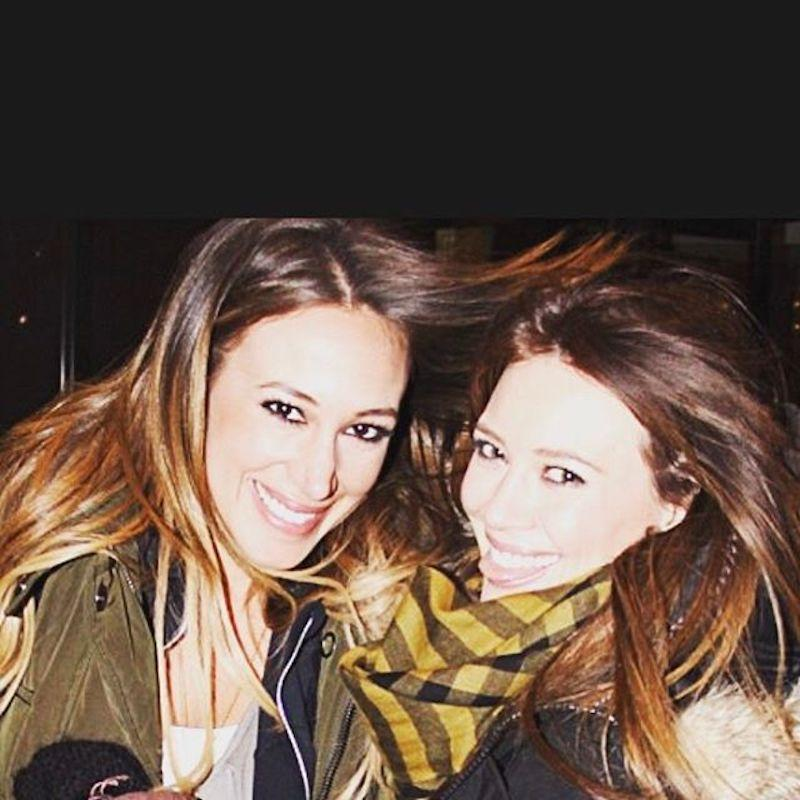 """<p>The Duff called a pic of her and big sis Haylie Duff — they're two-and-a-half years apart — a """"super flash back of @haylieduff and I <a rel=""""nofollow"""" href=""""https://www.instagram.com/p/BSuB5ZxBKMd/?taken-by=hilaryduff"""">lookin like twins</a>."""" Agree? (Photo: Hilary Duff via Instagram) </p>"""