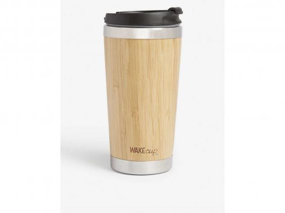 Ditch the disposable plastic coffee cubs for this reusable alternative (Selfridges)