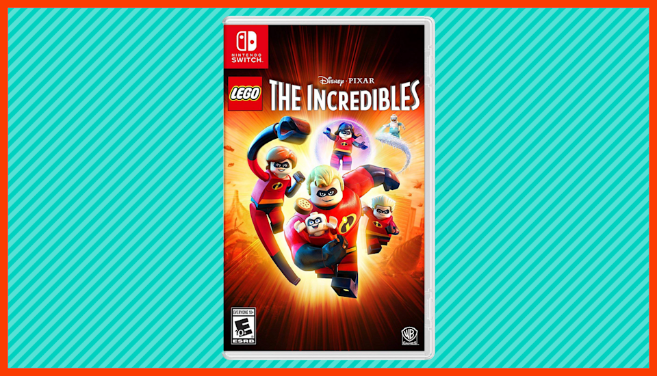 Save nearly 40 percent on LEGO Disney Pixar's The Incredibles. (Photo: Amazon)