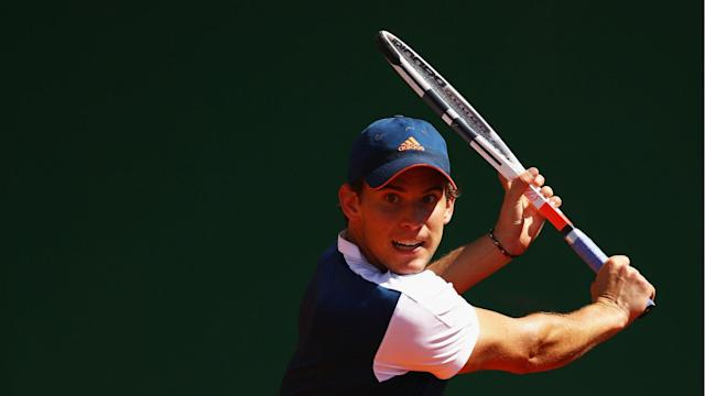 Fourth seed Dominic Thiem looks set for another successful clay season after hammering Kyle Edmund in Barcelona.