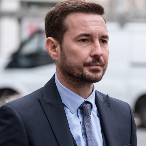 Martin Compston as Steve - Credit:  World Productions Ltd
