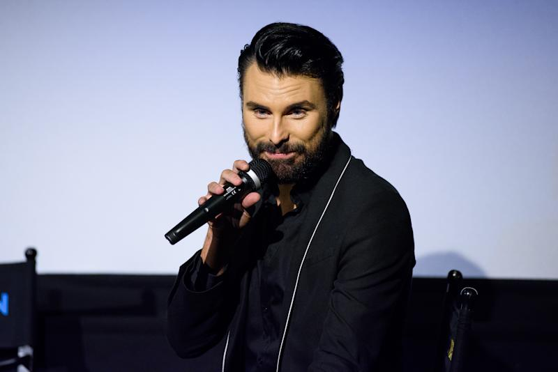 LONDON, ENGLAND - JUNE 04: Rylan Clark Hosts a Q&A session at the DVD launch of 'Steps Party On The Dancefloor' at the Everyman Cinema on June 4, 2018 in London, England. (Photo by Joe Maher/Getty Images)
